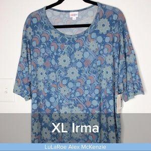 LuLaRoe XL Irma Tunic